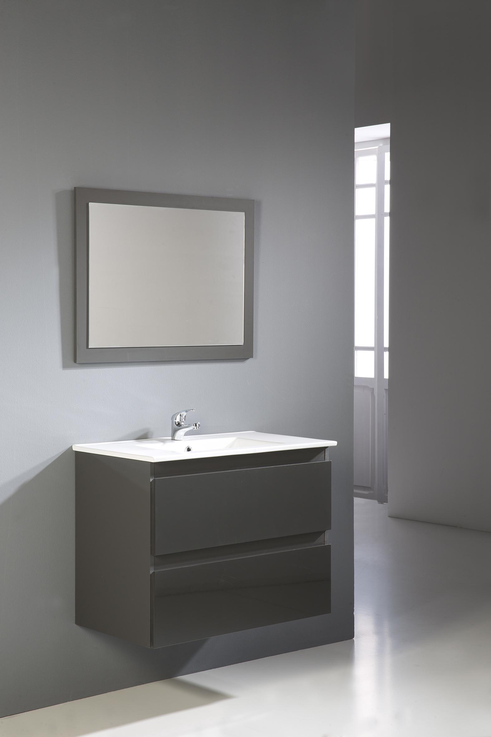 Línea moderna y funcional de Muebles Jumar para el baño - Feria ...