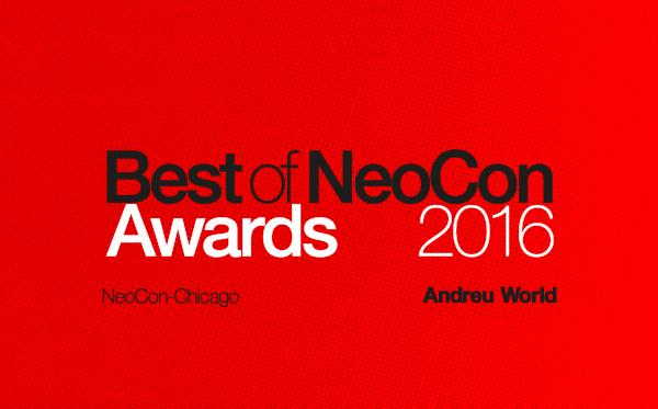 Andreu World gana siete premios Best of NeoCon en Chicago