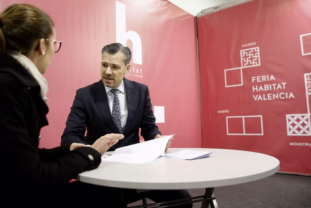 Feria Hábitat Valencia promotes in Cevisama its next appointment in September
