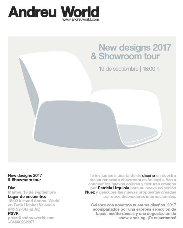 Andreu World te invita a su nuevo showroom