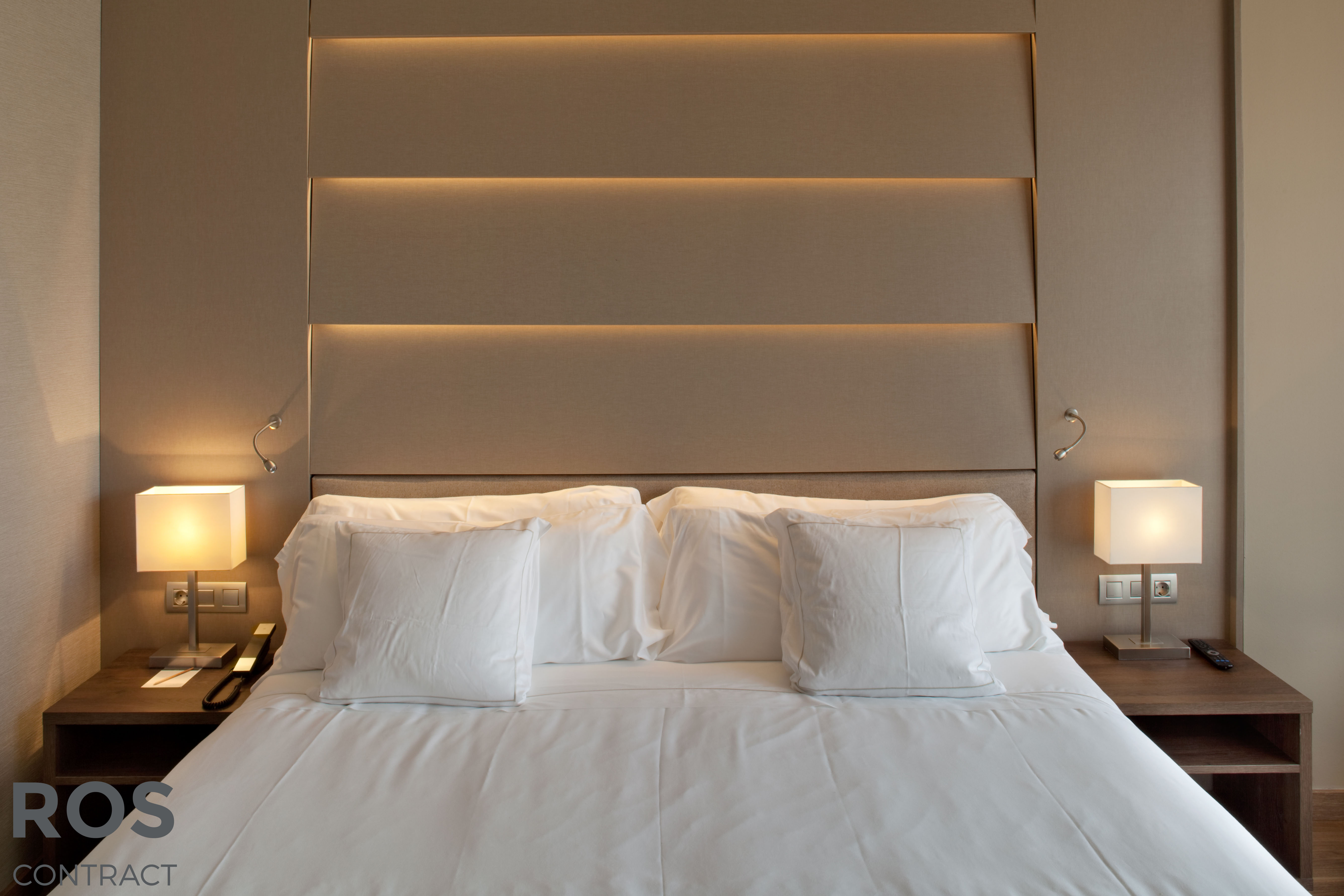 Muebles Ros Expondr Una Habitaci N De Hotel Para Los Interesados  # Muebles Hoteleros