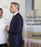 El chef Martín Berasategui, nuevo embajador de la firma expositora Senttix